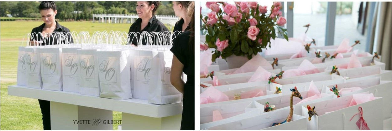 Wedding Gift Ideas For Guests Cape Town : was in these divine gift bags for guests at Ola and Stevens wedding ...