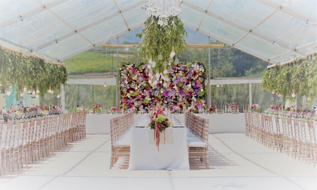Cape Town Wedding Planner Real Wedding Marquee At Webserburg