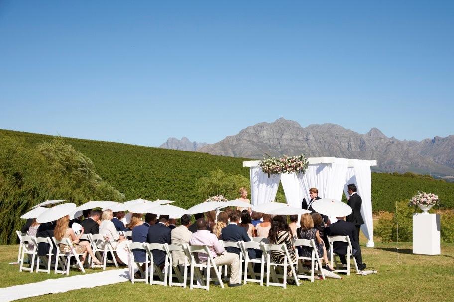 Tatiana Karelina & Shawn Frazer South African Wedding