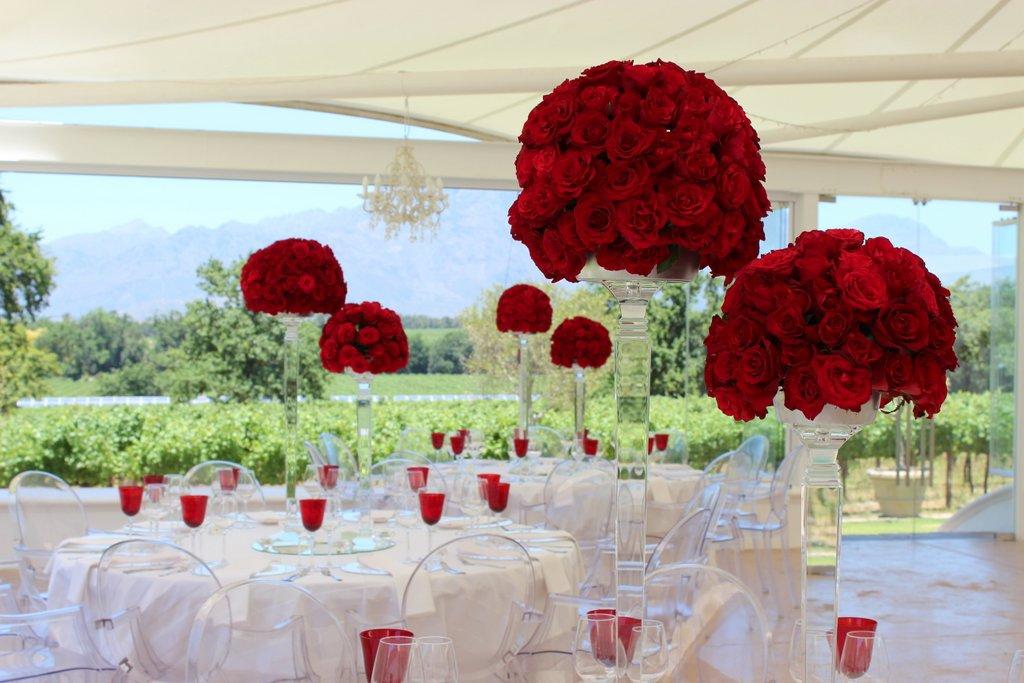Cape Town Wedding Planner Reflection Jen Daves Simplistic Wedding